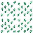 Christmas tree brunches seamless pattern vector image