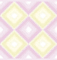 candy colors simple rhombus seamless pattern vector image vector image