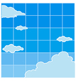 Clear Sky Background vector image