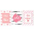 fall in love love be mine romantic graffiti vector image vector image