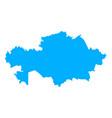 map kazakhstan vector image vector image