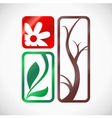 Symbol of nature vector image vector image