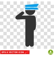 Child Officer Eps Icon vector image vector image