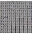 Cobblestone pavement texture vector image vector image