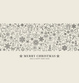design christmas decoration - seamless pattern vector image