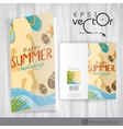 Greeting Card Design Template vector image vector image