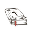 holy bible image vector image