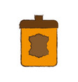 jar emblem object vector image
