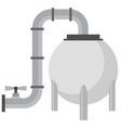 lng tank icon vector image
