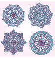 arabesque set3 vector image vector image