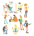 Creative People Set vector image vector image