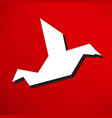 dove of peace vector image vector image