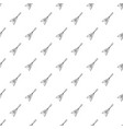 electric guitar pattern seamless vector image vector image