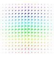 flag shape halftone spectrum pattern vector image