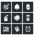 Incentives life icons vector image