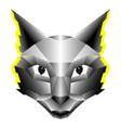 modern creative cat vector image vector image
