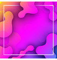 pink and lilac background with abstract pattern vector image vector image