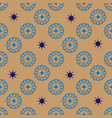 Star and spiral geometric seamless pattern 210