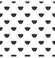 vintage bikini pattern seamless vector image vector image