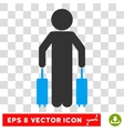 Child Passenger Eps Icon vector image vector image