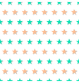 Green Orange Star Abstract White Background vector image vector image