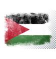 grunge flag jordan vector image vector image