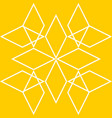tile yellow and white pattern or website backgroun vector image
