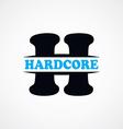 letter H logotype logo sign theme vector image