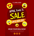 1st april fools day poster background vector image