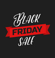 Black friday lettering sign and logo