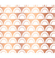 copper foil doodle arcs abstract pattern vector image vector image