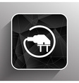 Electric outlet icon plug cord power vector image vector image