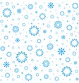 Falling snow Snowfall vector image vector image