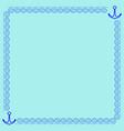 frame blue 3 2010 vector image