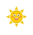 Funny sunny vector image