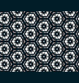 geometric seamless assembled from vector image vector image