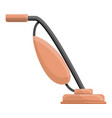 long vacuum cleaner icon cartoon style vector image