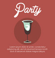 party concept design vector image vector image