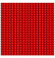 red seamless texture knitting woolen clothes vector image