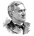 thomas francis bayard vintage vector image vector image