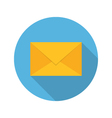 E mail envelope icon vector image