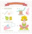 pregnancy planning healthy vector image vector image
