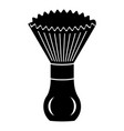 shave brush icon simple style vector image vector image