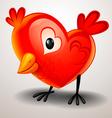 Valentine twitter vector image