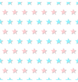 Blue Pink Star Abstract White Background vector image vector image