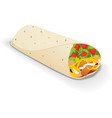 Burito vector image
