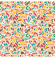 colorful abstract seamless pattern brazilian vector image vector image