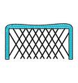 ice hockey goal vector image vector image