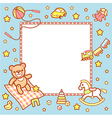 Kid frame boy vector image vector image