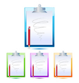 letter pad and pencil vector image vector image